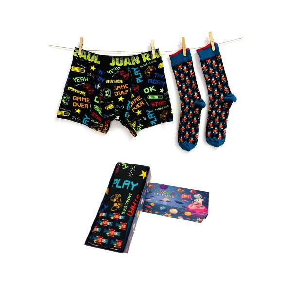 Babalar Gününe Özel Game Boxer Çorap Seti