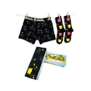 Babalar Gününe Özel Panter Boxer Çorap Seti