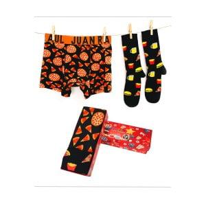 Babalar Gününe Özel Pizza Boxer Çorap Seti