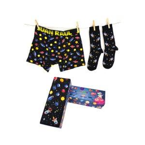 Babalar Gününe Özel Gezegen Boxer Çorap Seti