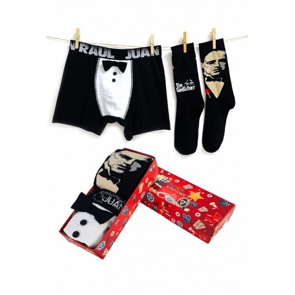 Babalar Gününe Özel Goodfather Boxer Çorap Seti
