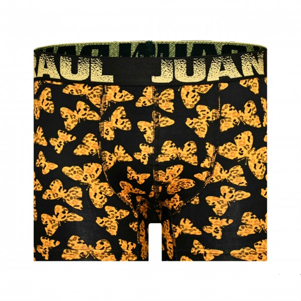Erkek Sarı Kelebek Desenli Boxer