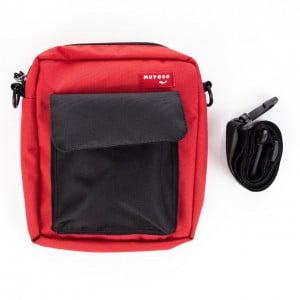Kırmızı-Siyah Renkli Çapraz Çanta