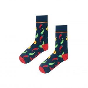 (43-47)Erkek Biber Desenli Lacivert Çorap
