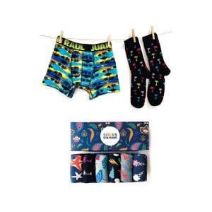 Babalar Gününe Özel Dondurma Boxer Çorap Seti