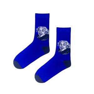 (43-47) Erkek Lacivert Einstein Çorap