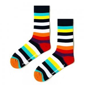 Renkli Çizgili Erkek Çorap (42-46)