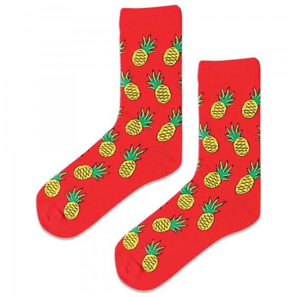 Ananaslı Kırmızı Çorap